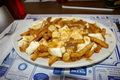 Regular plain poutine - Chez Vachon