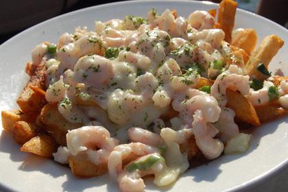 Poutine aux crevettes - Brise Bise (Gaspé) - MaPoutine.ca