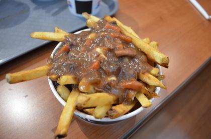 Braised Beef Poutine - New York Fries (Burlington) - MaPoutine.ca