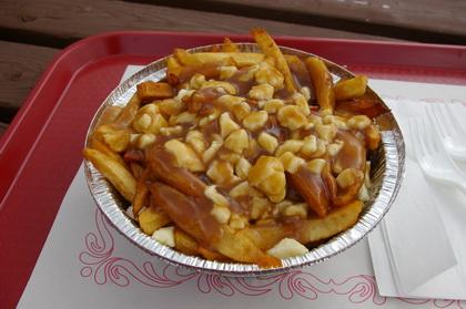Poutine sauce brune - Casse-Croûte Chez Anthony (Québec Beauport) - MaPoutine.ca