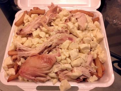 Poutine au poulet blanc - Coq-O-Bec (Sherbrooke) - MaPoutine.ca