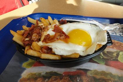 Poutine déjeuner avec bacon - Burger King (Lévis Saint-Jean-Chrysostome) - MaPoutine.ca