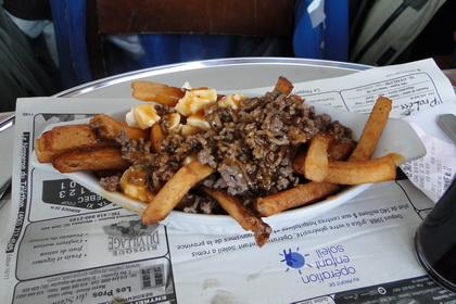 Poutine au bœuf BBQ - Le Snack Resto (Québec) - MaPoutine.ca