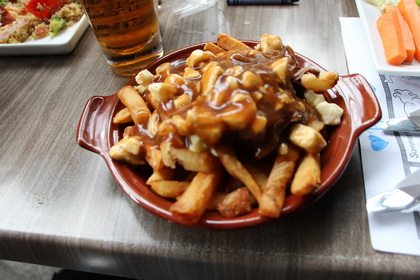 Poutine (with beef) - Casey