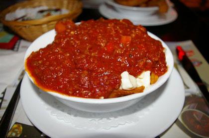 Poutine sauce spaghetti - Flash Café (Québec Sainte-Foy) - MaPoutine.ca