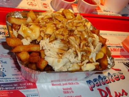 Poutine au poulet - Patates Plus (Québec Val-Bélair) - MaPoutine.ca