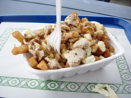 Poutine poulet - Casse Croute du Coin (Brownsburg-Chatham) - MaPoutine.ca
