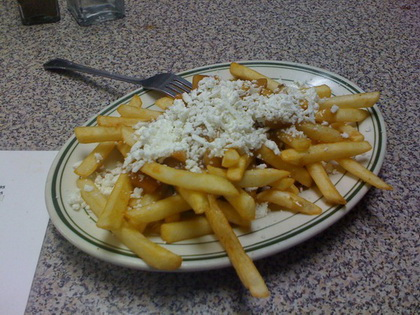 Greek poutine - Vesta Lunch (Toronto) - MaPoutine.ca