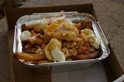 Poutine au homard - Festival de la Poutine 2010 - Au Pied de Cochon (Drummondville) - MaPoutine.ca